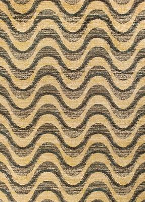 Varick Gallery Brayden Gray/Sand Area Rug; 9'10'' x 13'2''