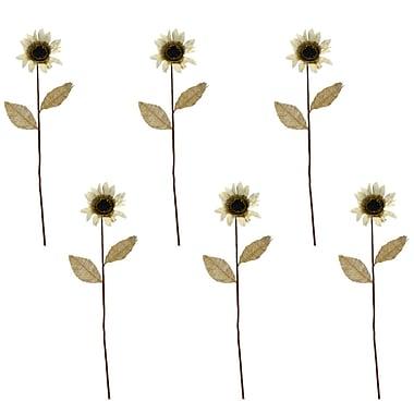 August Grove Hand-made Flower Stem (Set of 6)