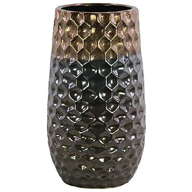 Bloomsbury Market Ceramic Round Table Vase w/ Broad Lip; 14.5'' H x 8.25'' W x 8.25'' D