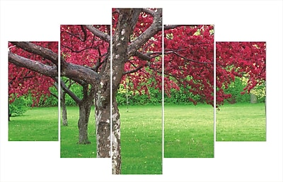 East Urban Home 'Cherry Blossoms' Photographic Print Multi-Piece Image on Wrapped Canvas