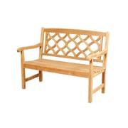 Darby Home Co Bamburgh Teak Garden Bench