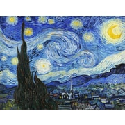 Red Barrel Studio 'Starry Night' by Vincent Van Gogh Print on Wrapped Canvas
