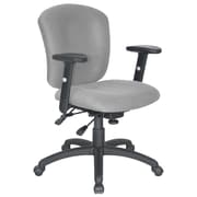 Symple Stuff Adjustable Desk Chair; Gray