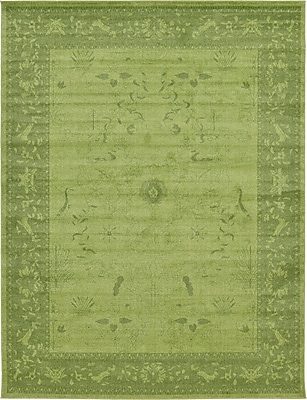 Bungalow Rose Imperial Light Green Area Rug; 10' x 13'