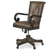 One Allium Way Roswell Fully Upholstered Mid-Back Executive Chair