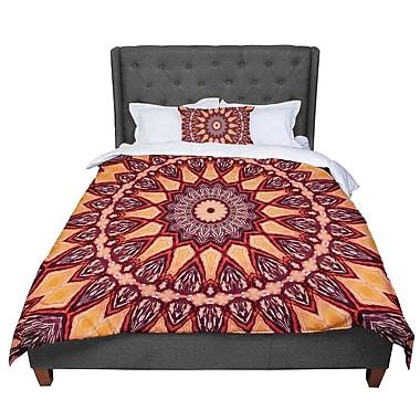 East Urban Home Iris Lehnhardt Colors of Africa Comforter; Queen
