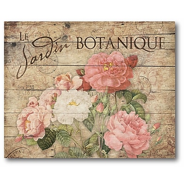 Ophelia & Co. 'Vintage Roses' Framed Graphic Art Print on Canvas