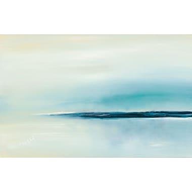 Latitude Run 'Stillness' Print on Wrapped Canvas