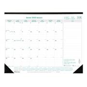 Blueline® – Calendrier sous-mains mensuel EcoLogix® 2018, 22 po x 17 po, bilingue