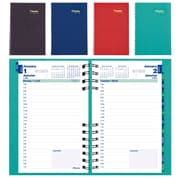 Blueline® – Agenda quotidien CoilPro™ 2018, 8 po x 5 po, couleurs variées, bilingue