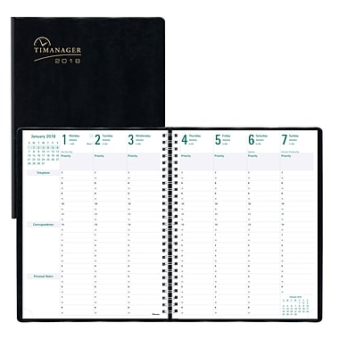 daily planner 2018