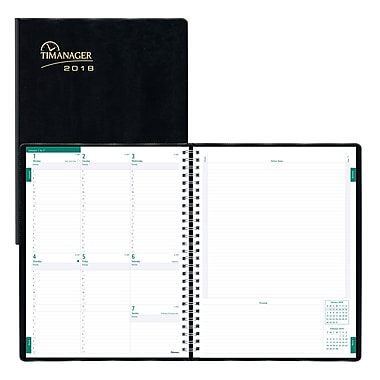 Blueline  Timanager Weekly Planner  X  Day
