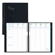 """Blueline® 2018 Timanager® CoilPro™ Weekly Planner, 11"""" x 8-1/2"""", 7-Day Planner, Black, English"""