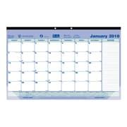 Blueline® - Calendrier sous-mains mensuel 2018, 17 3/4 po x 10 7/8 po, bilingue