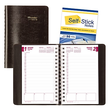 Brownline® 2018 Planner Plus Daily Planner, 8
