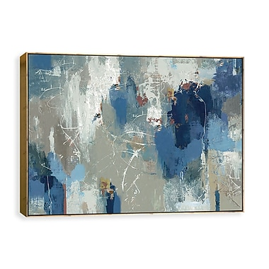 Artissimo Fluttered, Gallery Wrapped Canvas, 36W x 24H x 2D Wall Art