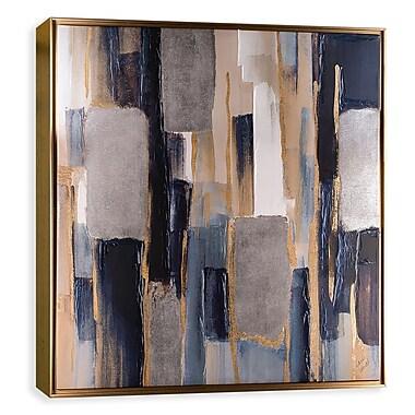 Artissimo Indigo Woodlands I, Gallery Wrapped Canvas, 35W x 35H x 2D Wall Art