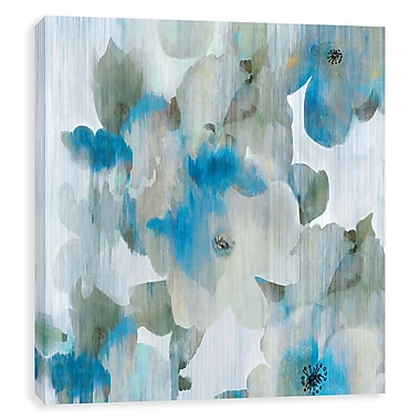 Artissimo Forget Me Not I, Gallery Wrapped Canvas, 14W x 14H x 1.25D Wall Art