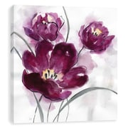 Artissimo My Magenta II, Gallery Wrapped Canvas, 12W x 12H x 1.25D Wall Art