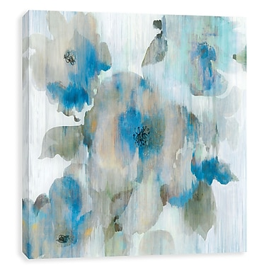 Artissimo Forget Me Not II, Gallery Wrapped Canvas, 14W x 14H x 1.25D Wall Art