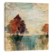 Artissimo Landscape Monotype I, Gallery Wrapped Canvas, 12W x 12H x 1.25D Wall Art