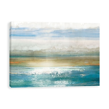 Artissimo Beyond Dawn, Gallery Wrapped Canvas, 35W x 23H x 1.25D Wall Art