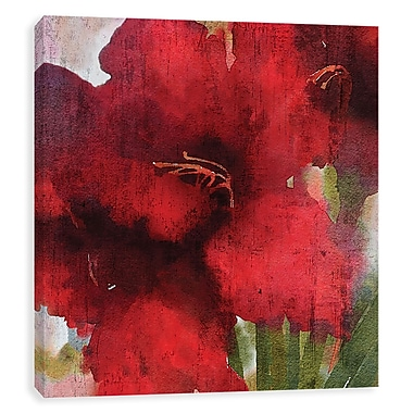 Artissimo Blooming Love II, Gallery Wrapped Canvas, 20W x 20H x 1.25D Wall Art