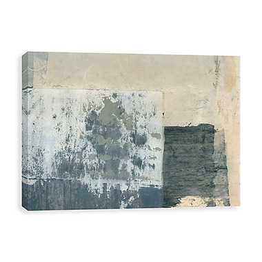 Artissimo Shades of Grey, Gallery Wrapped Canvas, 35W x 23H x 1.25D Wall Art