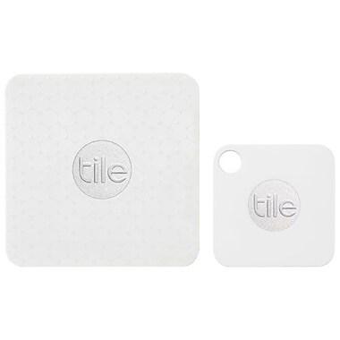 Tile – Ensemble de détecteurs d'objets égarés Bluetooth Mate et Slim (RT-07004-EU)