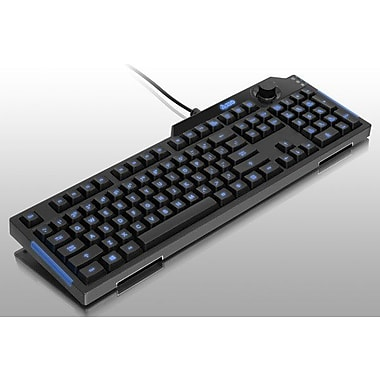 Aluratek USB Multi-function Gaming Keyboard With Backlight And Volume Control Knob