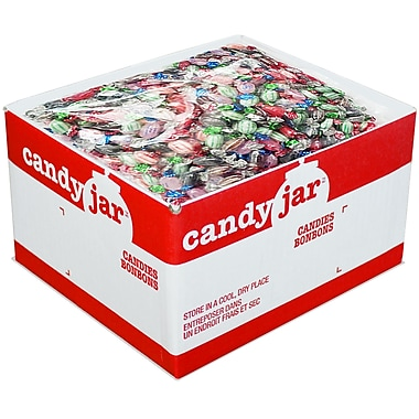 Candy Jar – Assortiments Executive de bonbons à la menthe, boîte de 5 kg