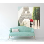 Red Barrel Studio 'Paris Romance II' Print on Wrapped Canvas