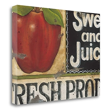 Red Barrel Studio 'Sweet and Juicy' Graphic Art Print on Wrapped Canvas; 20'' H x 26'' W