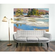 Red Barrel Studio 'Little Running River' Print on Wrapped Canvas