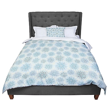 East Urban Home Julia Grifol My Delicate Flowers Comforter; Twin