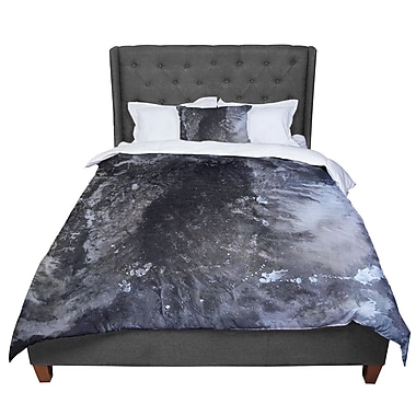 East Urban Home Abstract Anarchy Design Crepuscular Nebula Comforter; Twin