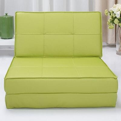 Varick Gallery Onderdonk Convertible Chair Bed Green Staples