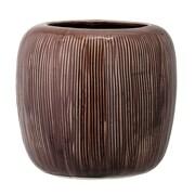 Bloomingville Flower Stoneware Pot Planter