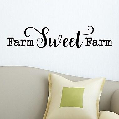 Belvedere Designs LLC Farm Sweet Farm Wall Decal