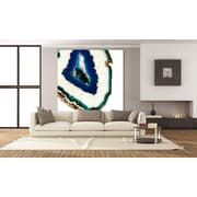 Everly Quinn 'Mediterranean Agate A' Print on Wrapped Canvas