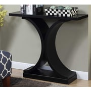 Ebern Designs Hubbard Curved Base Console Table