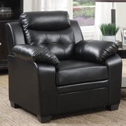 Winston Porter Kaitlin Club Chair; Black