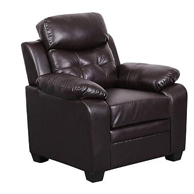 Winston Porter Kaitlin Club Chair; Brown