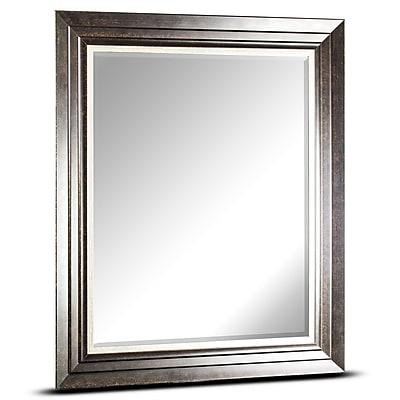 Alcott Hill Irvona Rectangular Framed Wall Mirror