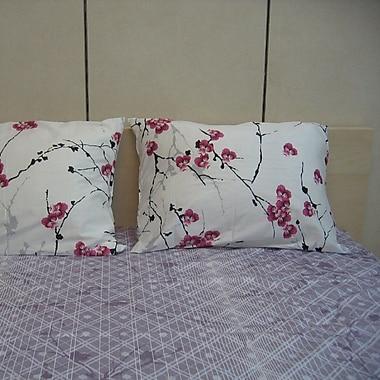 August Grove Julienne 200 Thread Count Cotton Sheet Set; Queen