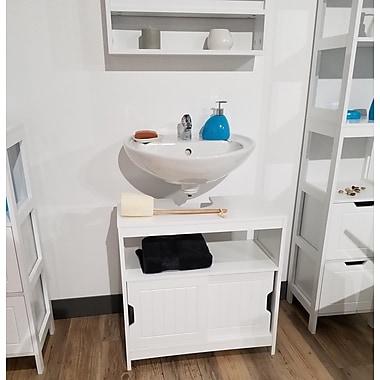 Evideco Cap Ferret Non Pedestal Under Sink 23.62'' W x 23.62'' H Cabinet