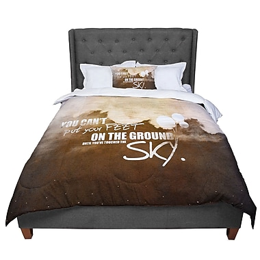 East Urban Home Touch the Sky Comforter; King