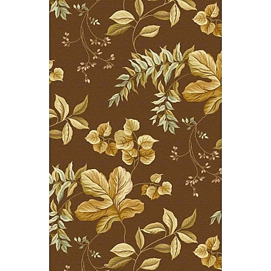 Darby Home Co Lovejoy Ferns Hand-Tufted Wool Ivory Area Rug; 5'3'' x 8'3''