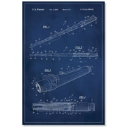17 Stories 'Star Wars Lightsaber Patent' Graphic Art Print on Canvas; 48'' H x 32'' W