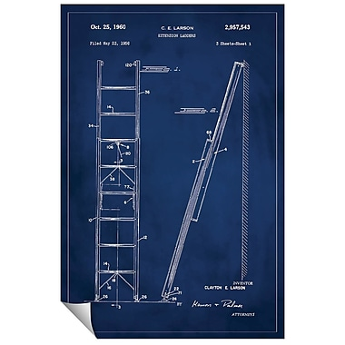Successories 'Ladder Patent' Wall Decal; 48'' H x 32'' W